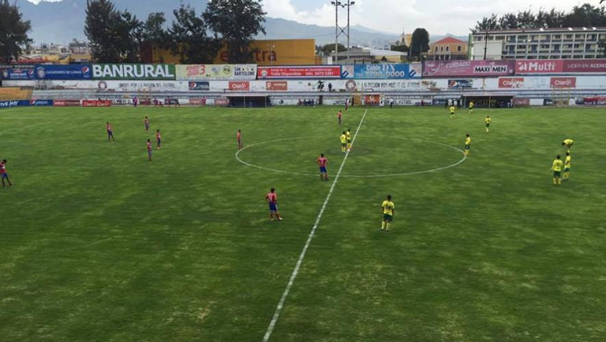 Partido de Petapa vs Xelajú, por el Torneo Apertura | Octubre 2016
