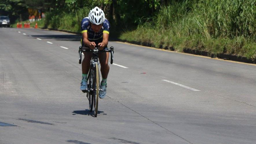 La primera prueba que se realizó fue la de Contrarreloj individual,que se realizó en Escuintla. (Foto: Federación Guatemalteca de Ciclismo)
