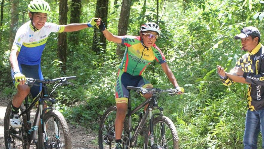 El Parque de Naciones Unidas fue el escenario para las competencias de MTB. (Foto: Federación Guatemalteca de Ciclismo)