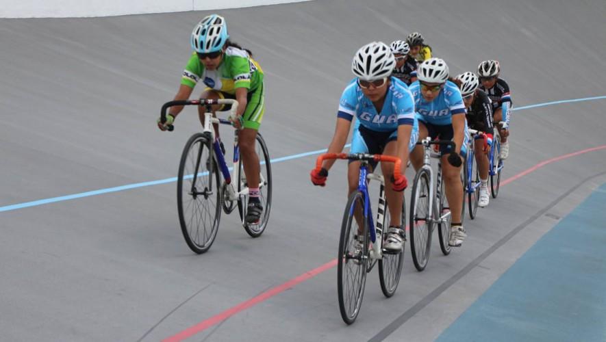 Las pruebas de pista fueron se realizon en el segundo día de las finales de los Juegos Nacionales. (Foto: Federación Guatemalteca de Ciclismo)
