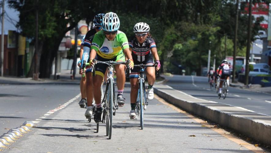 La prueba de ruta fue la última en realizarse. (Foto: Federación Guatemalteca de Ciclismo)