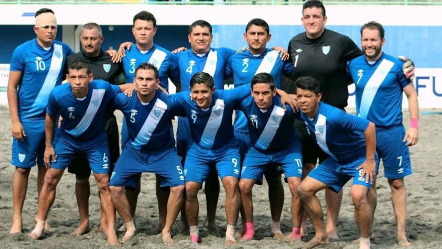 Guatemala buscará clasificarse por primera vez a un Mundial de este deporte. (Foto: UNCAF)