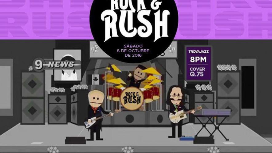 Rock and Rush en Trovajazz | Octubre 2016