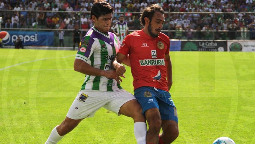 Partido de Municipal vs Antigua, por el Torneo Apertura | Octubre 2016