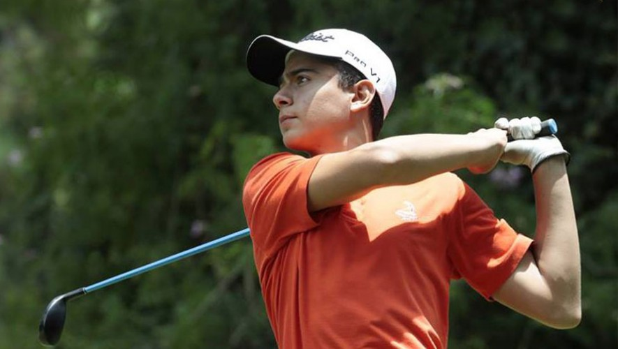 Urrutia logró la mejor participación individual de Guatemala en el torneo que se realizó en Argentina. (Foto: Asogolf Guatemala)