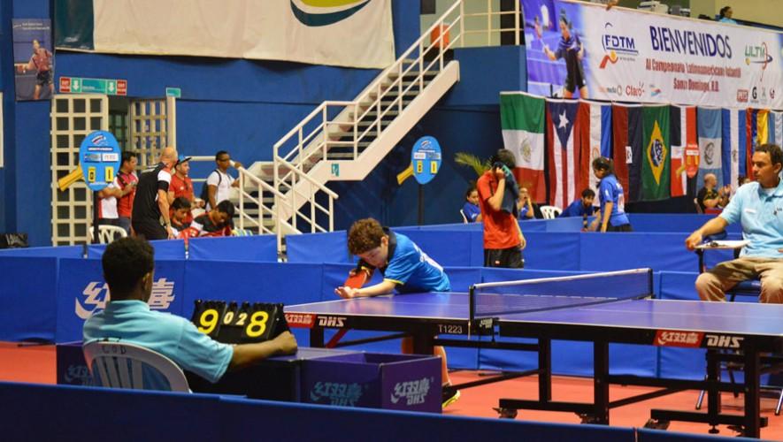 ce21c2833 Guatemala competirá en el Campeonato Latinoamericano Infantil 2016 de Tenis  de Mesa