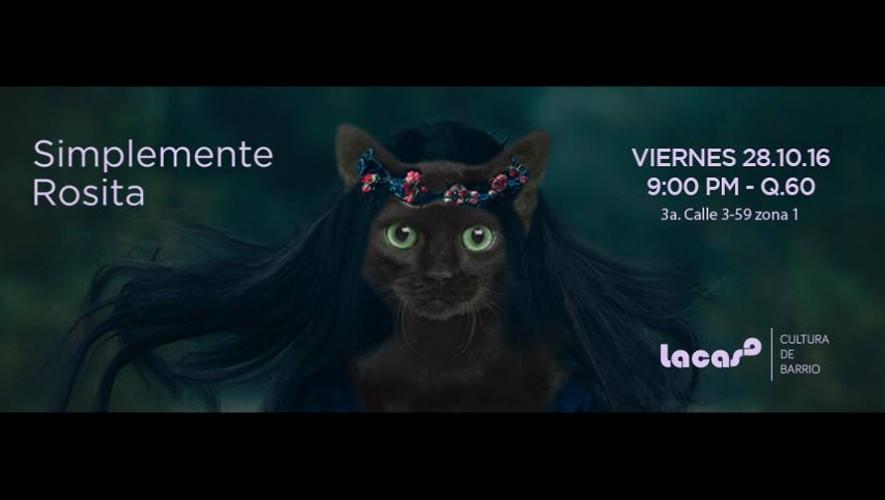 Fiesta de Halloween con Simplemente Rosita en La CASA | Octubre 2016