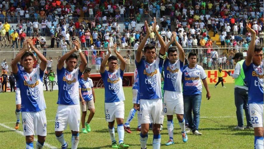 Partido de Suchitepéquez vs Guastatoya, por el Torneo Apertura   Octubre 2016