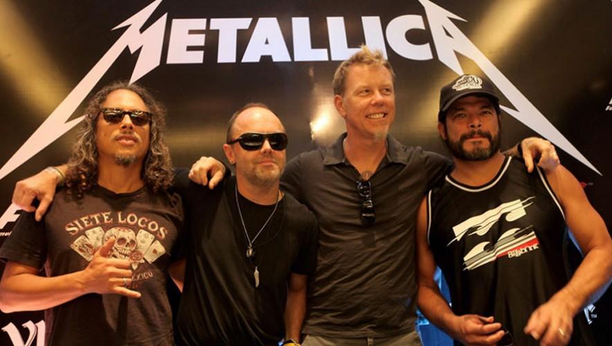 ¡Descubre cómo puedes conocer a los integrantes de Metallica en su concierto en Guatemala! (Foto: The Metalden)