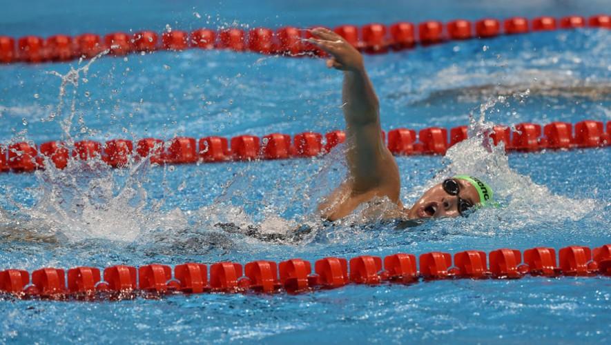 Con 17 años, Valerie debutó en la temporada universitaria de natación de Estados Unidos. (Foto: COG)