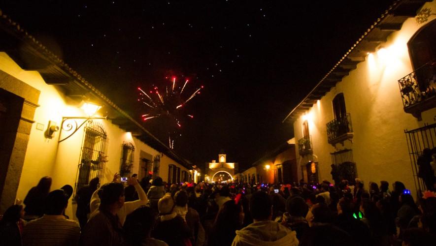 Viaje a Antigua Guatemala para celebrar Año Nuevo   Diciembre 2016