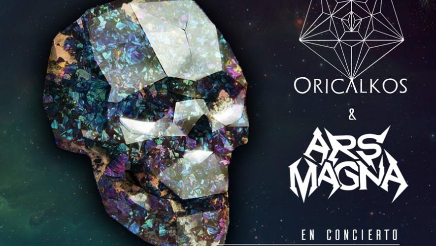 Concierto de Metal y Rock Progresivo de Ars Magna y Oricalkos en TrovaRock | Noviembre 2016