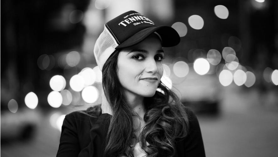 Carol Villagrán es una joven cantante guatemalteca que debuta en México con la banda MINK. (Foto: Jesús Cornejo)