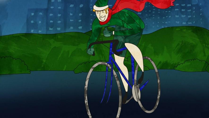 Paseo en bicicleta por la zona 10 de Saúl L'Ostería | Noviembre 2016