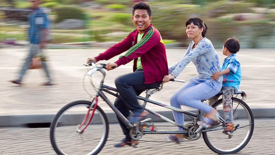 Paseo familiar en Bicicleta de Saúl L'Ostería | Noviembre 2016
