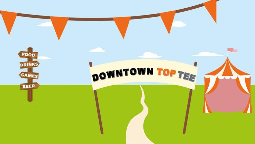 Comida, juegos extremos y diversión en Downtown Top Tee | Noviembre 2016