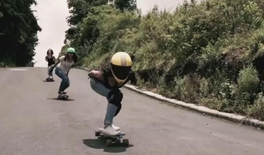 Nicol Barrios practica la modalidad de Downhill, en la que se lanza en diferentes cuestas. (Foto: Captura de vídeo ESPN)