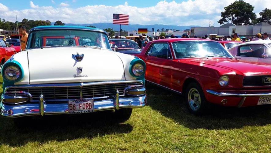 Asiste a la exposición de automóviles clásicos más esperada de Guatemala. (Foto: El Rock de los Carros)