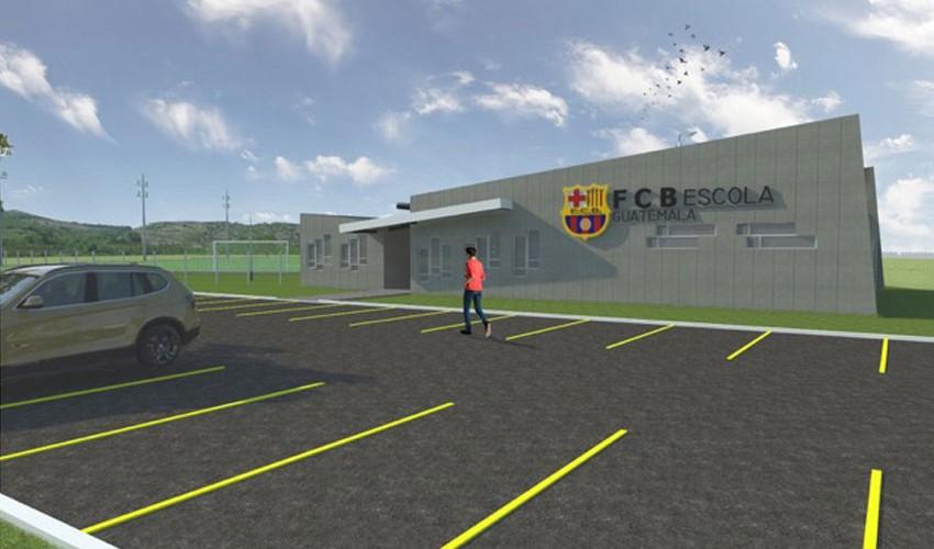 La FCB Escola Guatemala estará inaugurándose a principios del 2017. (Foto: FCB Escola)