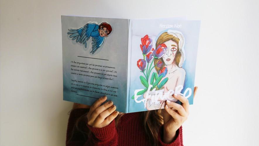 Hersson Noé realizará una transmisión en vivo para presentar su libro el próximo 26 de noviembre. (Foto: Guatemala.com)