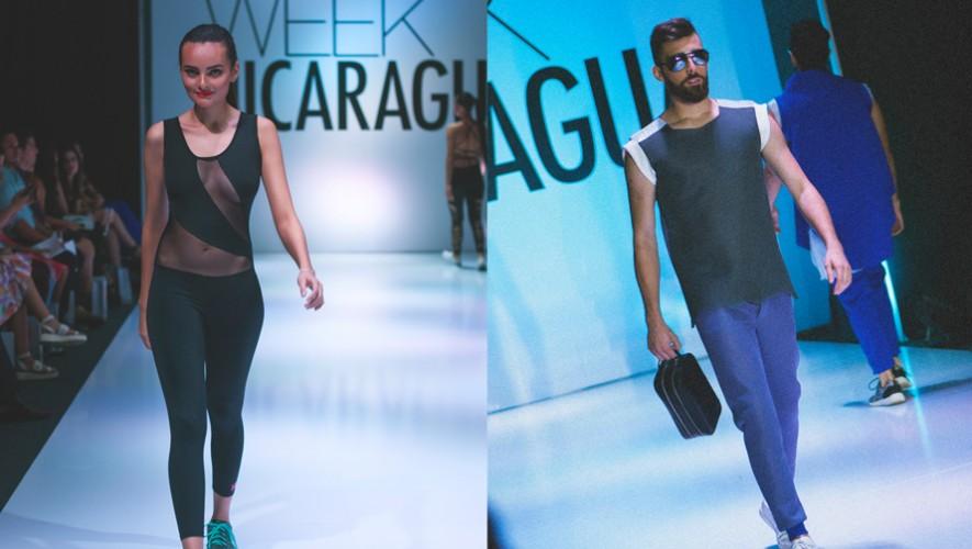 Los modelos Mafer De La Roca y Jacobo Pieters. (Foto: Ivana Aguilar)