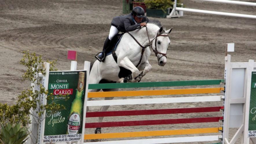 Jinetes como José Pirir y Wylder Rodríguez estarán presente en las diferentes pruebas de salto. (Foto: Prensa ANEG)