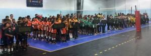 (Federación Nacional de Voleibol Guatemala)