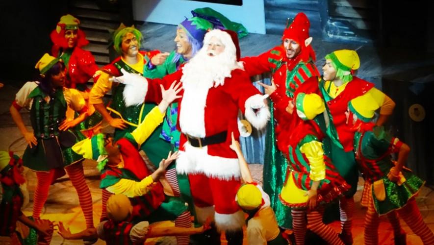 """Musical """"La fábrica de Santa"""" en Paseo Cayalá   Noviembre-Diciembre 2016"""