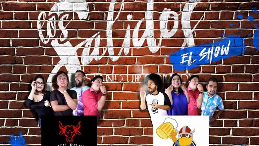 """Los Salidos"" presentan Show de Stand Up Comedy en The Rock Steak House | Noviembre 2016"