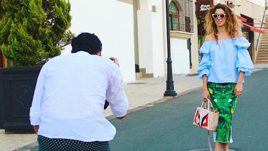 El fotógrafo Craig Arend  estará fotografiando el street style de Guatemala. (Foto: Mercedes-Benz Fashion Guatemala)