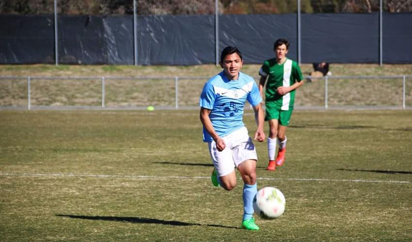 Martin juega actualmente en la Liga Nacional Sub-20, considerada como la segunda mejor en Australia. (Foto: Facebook de Martín García)