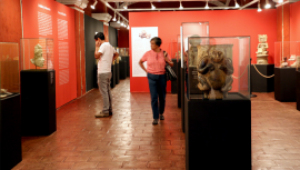 La Figura Humana y la Decoración Corporal Prehispánica es una exposición muy interesante. (Foto: Fundación Ruta Maya)