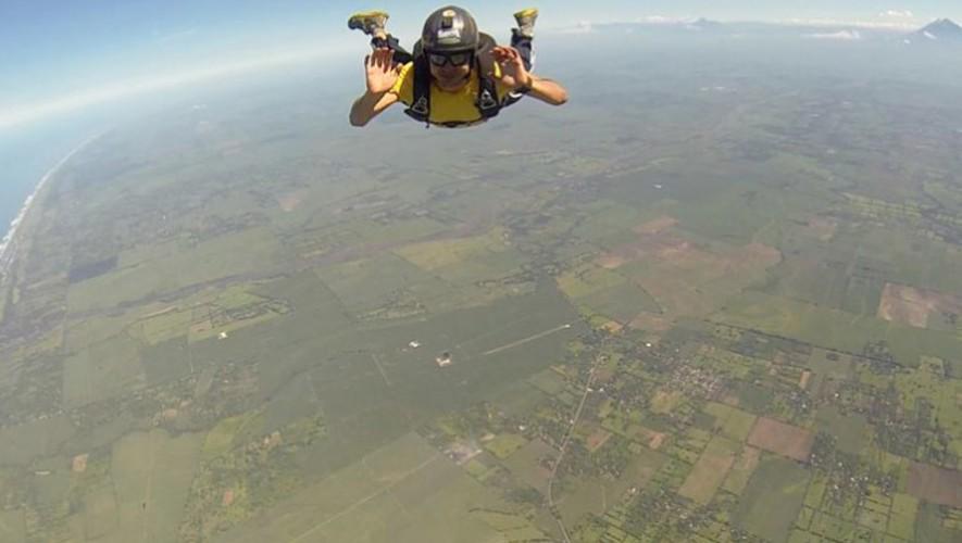 (Foto: Asosiación Paracaidismo Guatemala)
