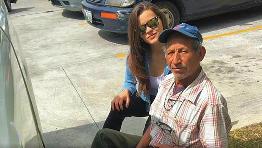 Melanie Castillo junto a Vidal Argueta, (Foto: El Reto)
