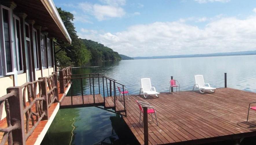 (Foto: Ribiera del Lago Peten Itza)