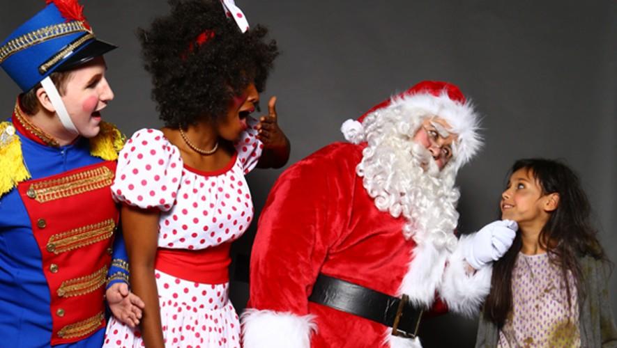 """Musical """"Santa Claus y el rapto de los renos"""" en Solo Teatro   Diciembre 2016"""