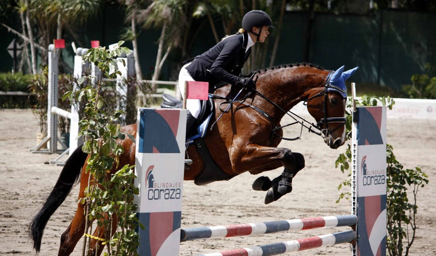 Este evento es considerado como una de las competencias más importante de salto en la región. (Foto: Prensa ANEG)