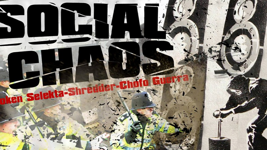 "Fiesta de Drum and Bass ""Social Chaos"" en The Cure Lounge   Noviembre 2016"