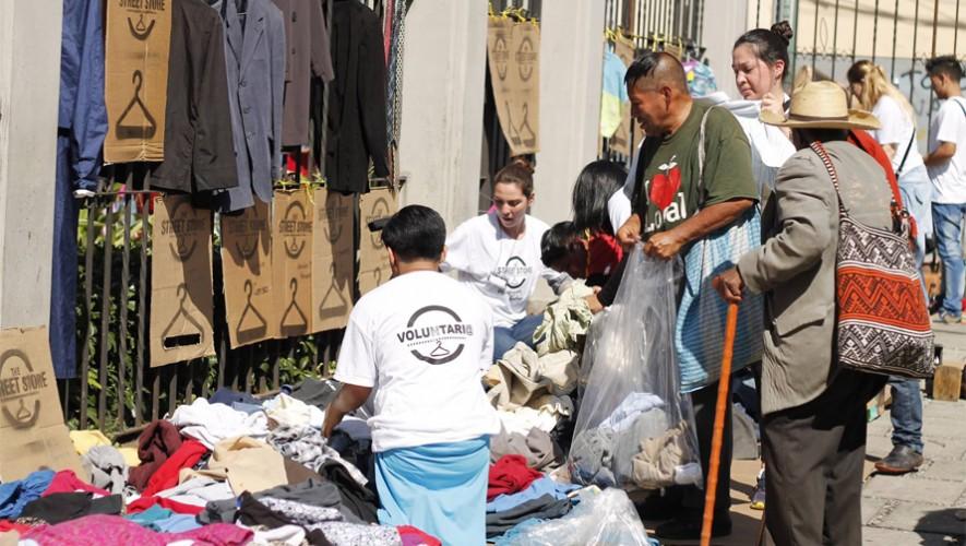 The Street Store es una iniciativa de TIK, Baildar y Somos Voluntad. (Foto: The Street Store Guatemala)
