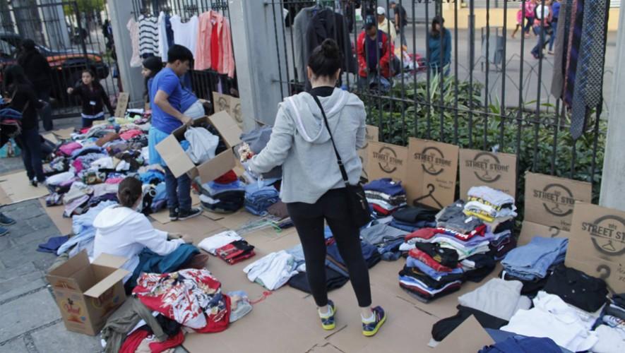 Tu ropa puede ayudar a cambiar la vida de muchas personas en situación de calle en Guatemala. (Foto: The Street Store Guatemala)