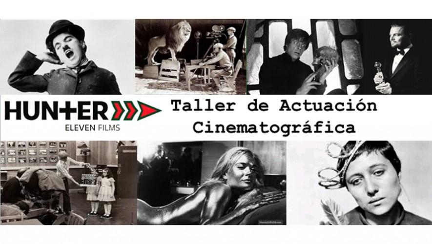 Taller de actuación cinematográfica en Antigua Guatemala | Noviembre 2016