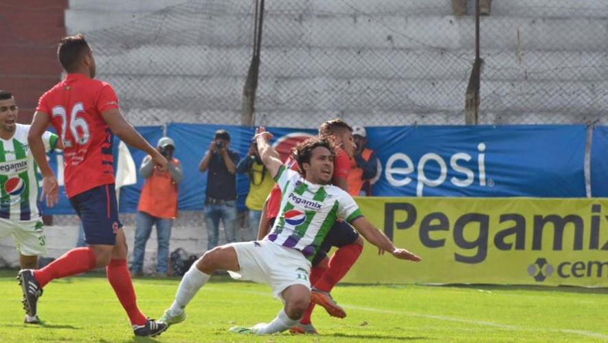 Partido de Malacateco vs Antigua, por el Torneo Apertura | Noviembre 2016