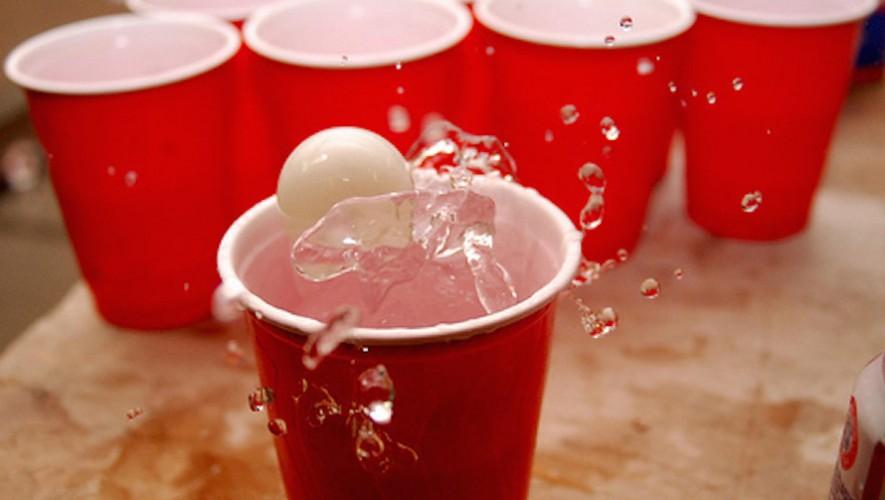 Torneo de Beer Pong en Frat House | Noviembre 2016
