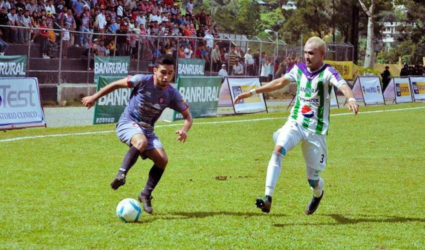 Partido de Antigua vs Carchá por el Torneo Apertura | Noviembre 2016