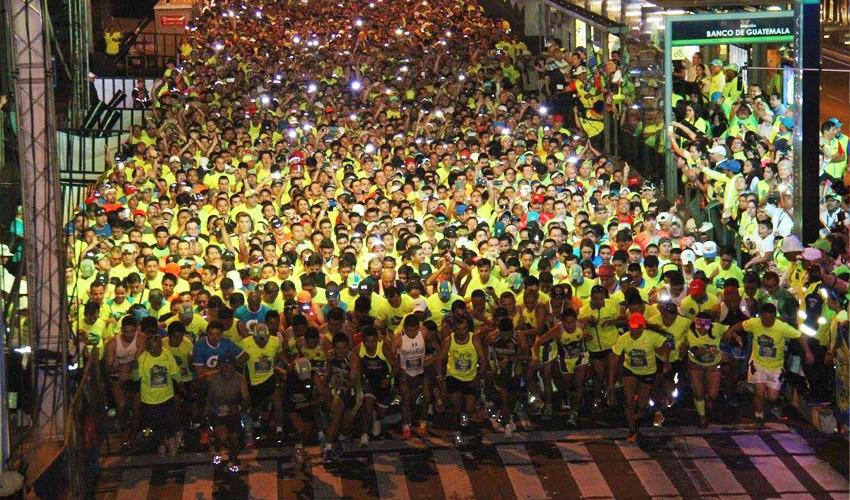 Para la cuarta edición de la 10K Nocturna estarán habilitadas 12,000 cupos. (Foto: 10K Ciudad de Guatemala)