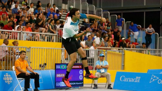 Cordón ha sido el mejor bádmintonista de América en varias ocasiones, especialmente en competencias olímpicas. (Foto: COG)