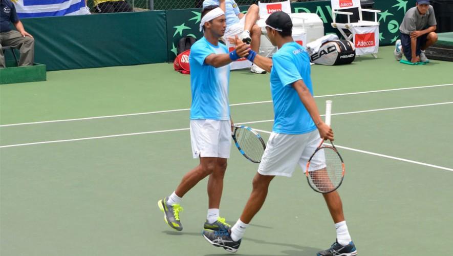 Los dos tenistas buscarán llegar a la gran final del torneo en Costa Rica. (Foto: Federación Tenis de Campo Guatemala)