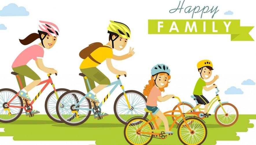 Paseo Familiar en bicicleta en la zona 4 | Noviembre 2016