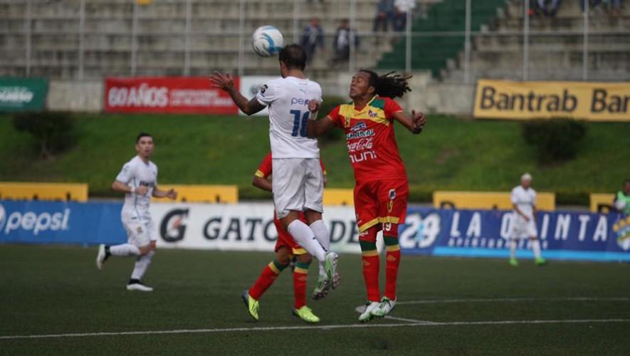 Partido de Comunicaciones vs Malacateco, por el Torneo Apertura | Noviembre 2016