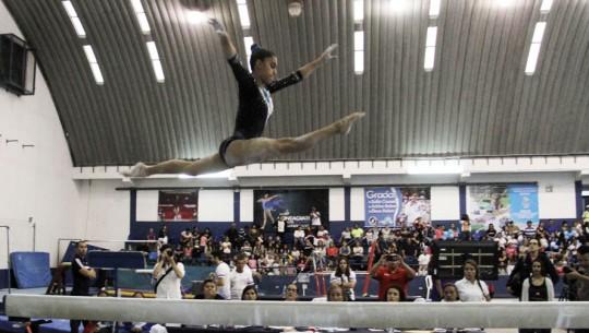 Ana Sofía y Jorge Vega demostraron ante su público lo mejor de sus rutinas. (Foto: COG)